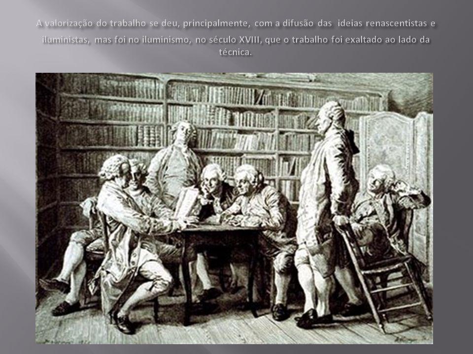 O trabalho assalariado se impõe como condição de existência humana, na medida em que esta foi a forma de produzir instituída na sociedade contemporânea.