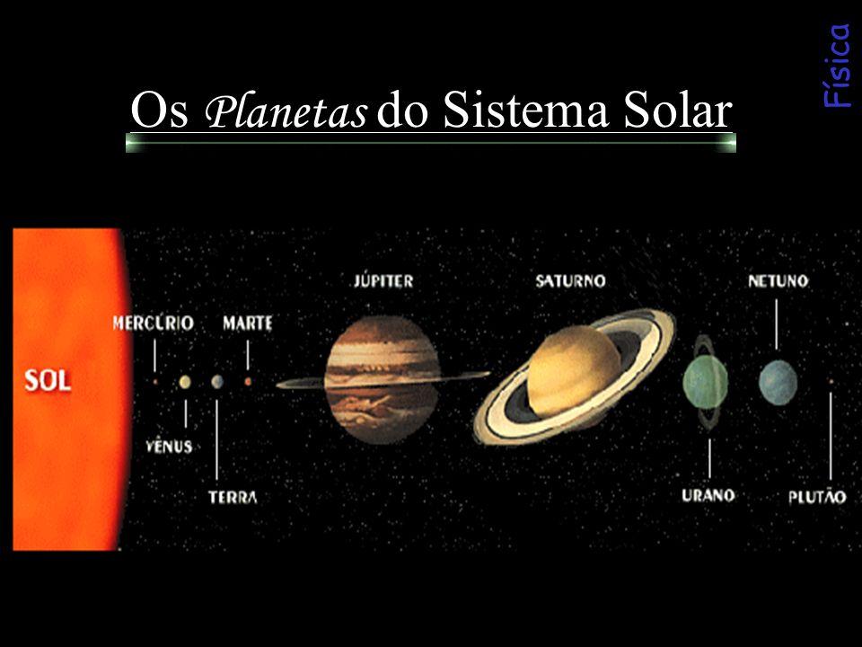 Os Planetas do Sistema Solar Física