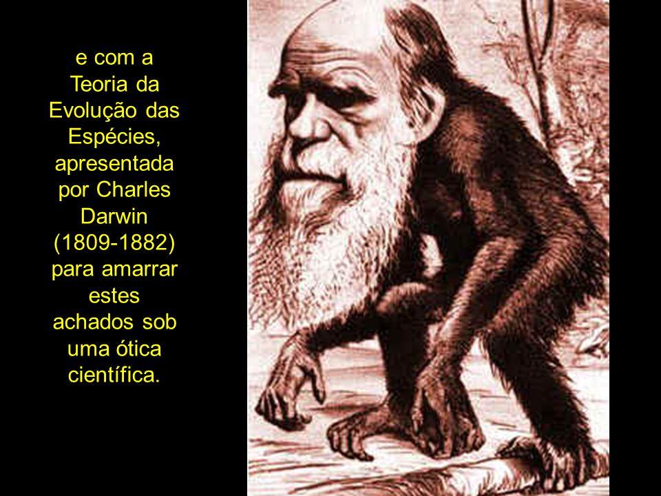 A assim chamada Paleoantropologia nasceu das observações e demonstrações das semelhanças anatômicas entre o homem e os macacos, como gorilas e chimpanzés, feita por Darwin e discípulos como Thomas Huxley (1825-1895) e Ernest Haeckel (1834-1919).