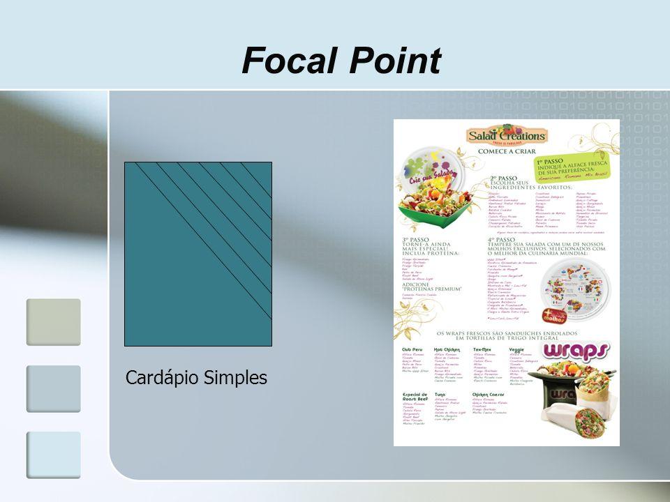 Focal Point Cardápio Simples