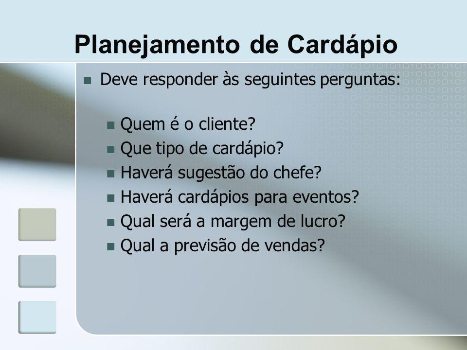 Aspectos a considerar Características dos clientes (próx.