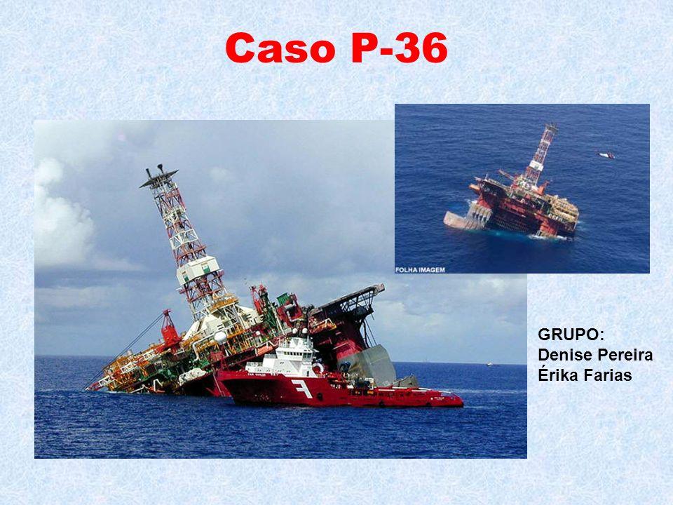 Caso P-36 GRUPO: Denise Pereira Érika Farias