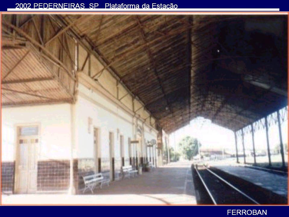 Não há mais transporte de passageiros e locomotivas elétricas. A FERROBAN considerou as locomotivas elétricas pouco-econômica optando pela dieselizaçã