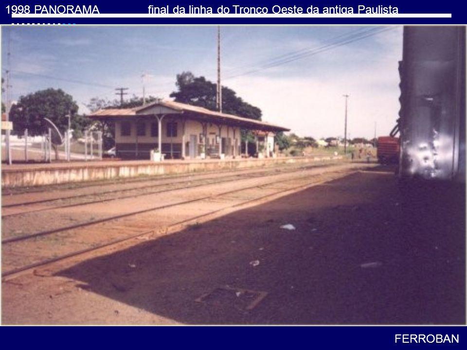 2001 Padre Nóbrega tronco Oeste FERROBAN > Ferrovias Bandeirantes S/A