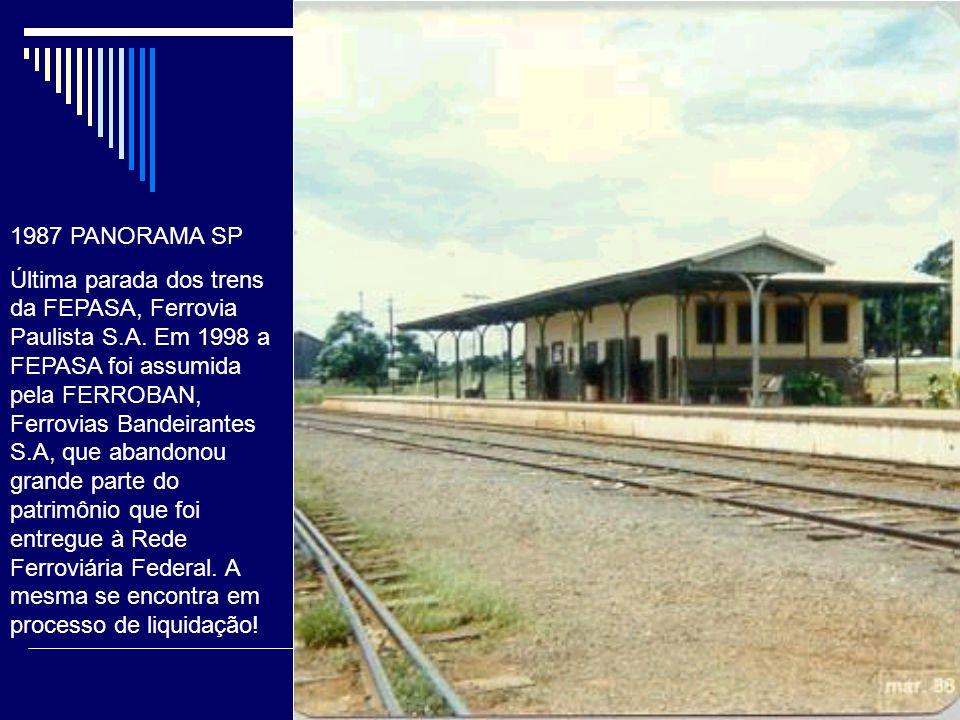 1995 PANORAMA SP FEPASA