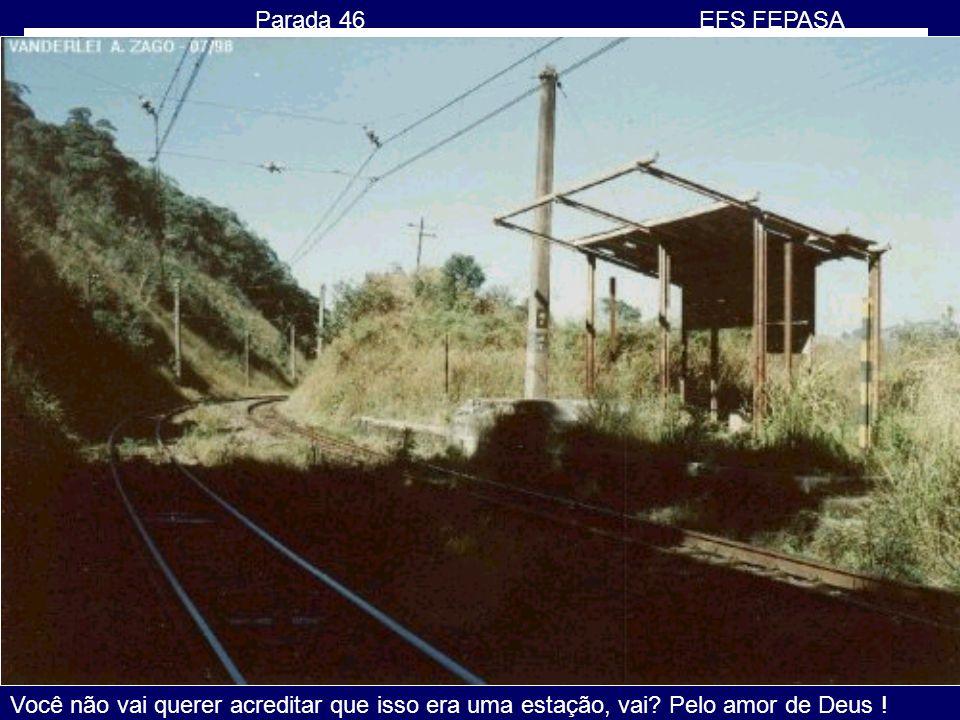 1987 PANORAMA SP Última parada dos trens da FEPASA, Ferrovia Paulista S.A. Em 1998 a FEPASA foi assumida pela FERROBAN, Ferrovias Bandeirantes S.A, qu
