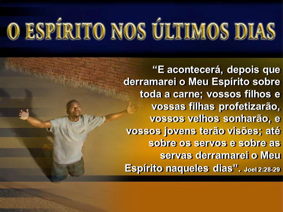 Pedro identificou o derramamento do Espírito no Pentecostes como o cumprimento dessa profecia.