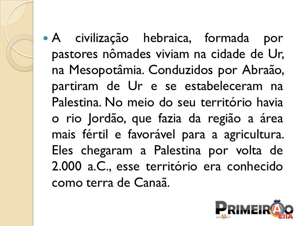 GOVERNO OU ERA DOS REIS (MONARQUIA) Os filisteus ainda representavam muita ameaça aos hebreus, visto que lutavam pelo completo controle do território da Palestina.
