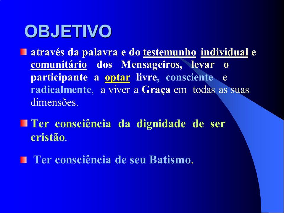 EVANGELIZAÇÃO DOS AMBIENTES 1ª parte: Apresentação do conceito de ambiente e apresentação do método.