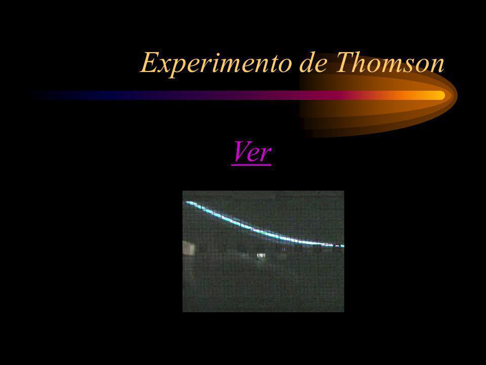 Experimento de Thomson Ver