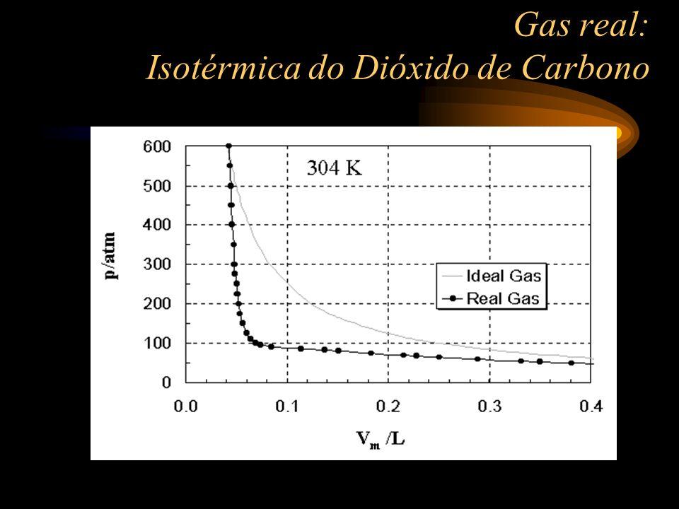 Energia cinética de translação Como já foi mencionada, em um gás ideal as moléculas não interagem, portanto não existem energia potencial e o único tipo de energia possível é a energia cinética de translação.