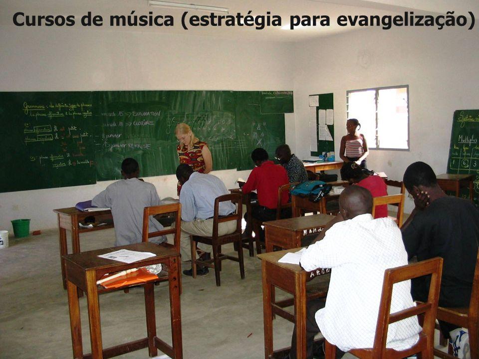 Cursos de música (estratégia para evangelização)