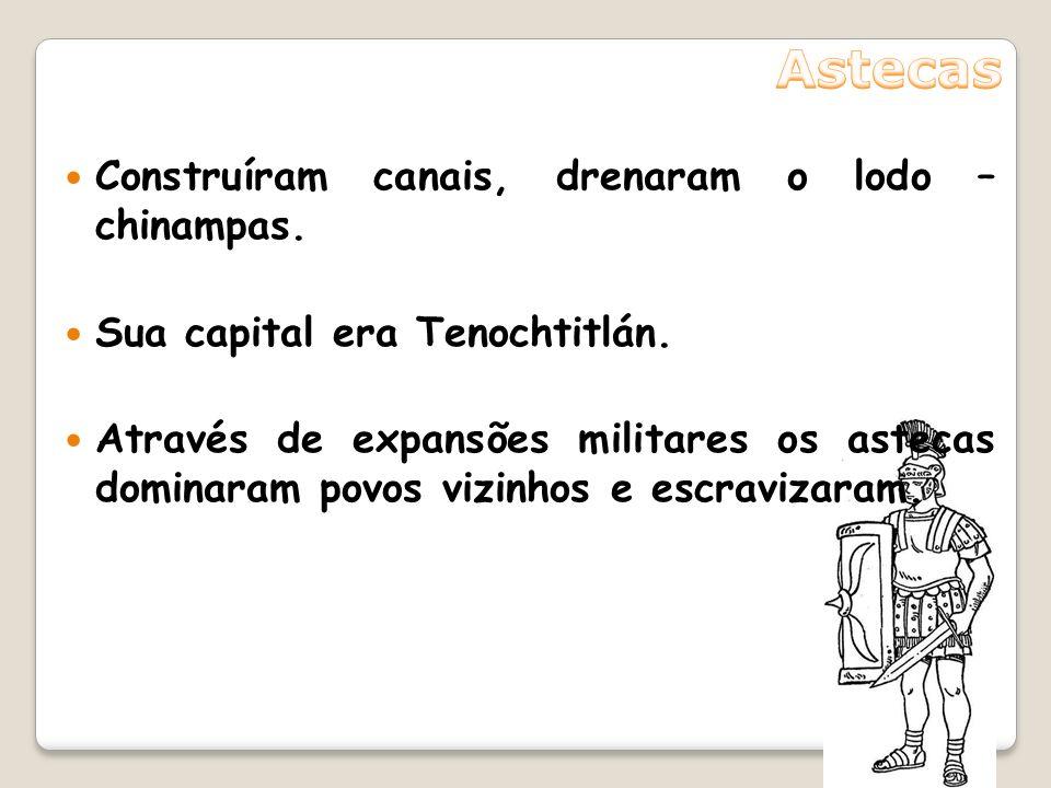 Os maias elaboraram o calendário. Sistema numérico que incluía zero. Sistema de escrita bastante complexo. Guerras e invasões causaram a destruição e