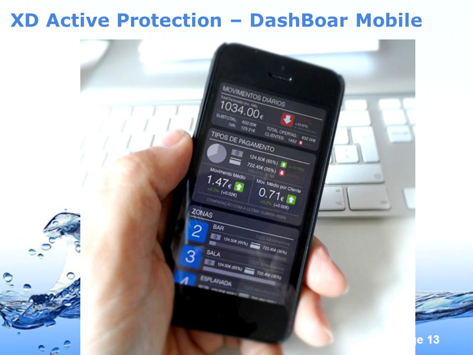 Page 13 XD Active Protection – DashBoar Mobile