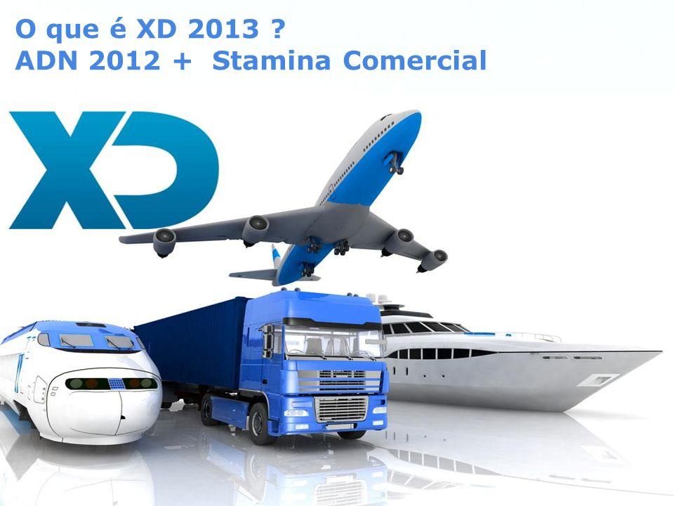 Page 4 O que é XD 2013 ? ADN 2012 + Stamina Comercial
