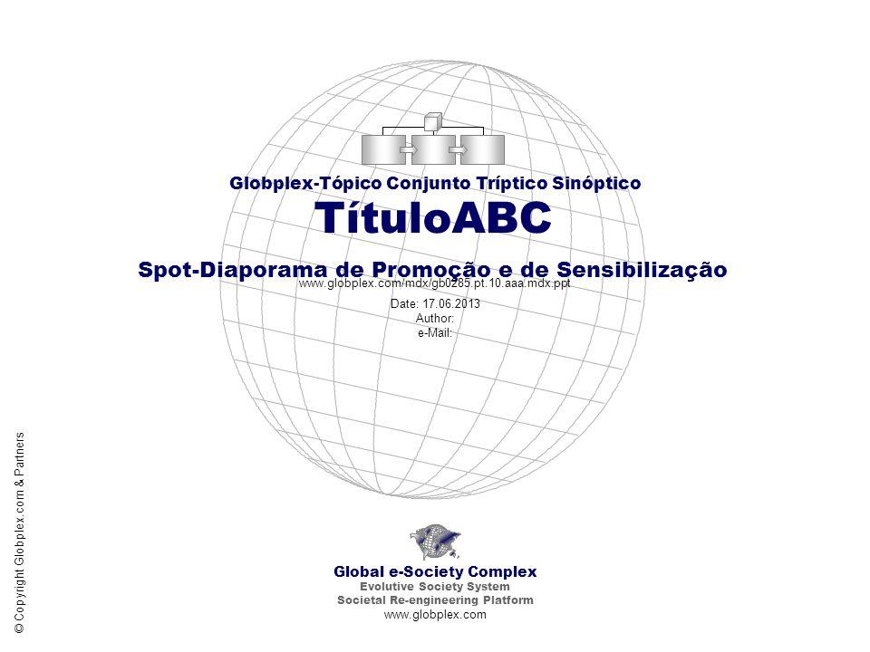 TítuloABC Spot-Diaporama de Promoção e de Sensibilização Porqué .