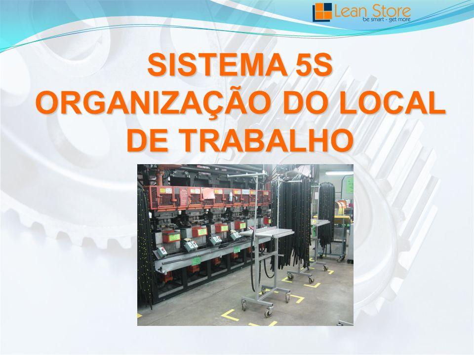 SISTEMA 5S ORGANIZAÇÃO DO LOCAL DE TRABALHO