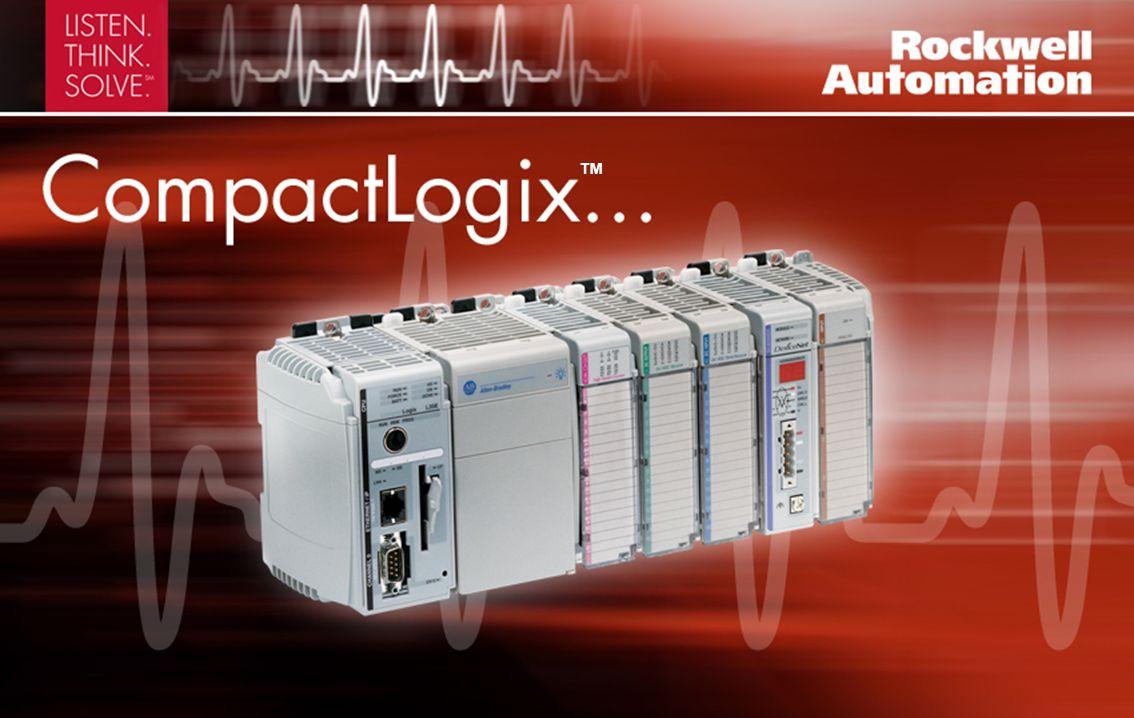 Sistema de controle modular avançado que pode ser usado na maioria das aplicações Memória não volátil CompactFlash removível para armazenamento de programas Até 30 módulos Compact I/O locais Programação e configuração da aplicação comum por meio do software RSLogix 5000
