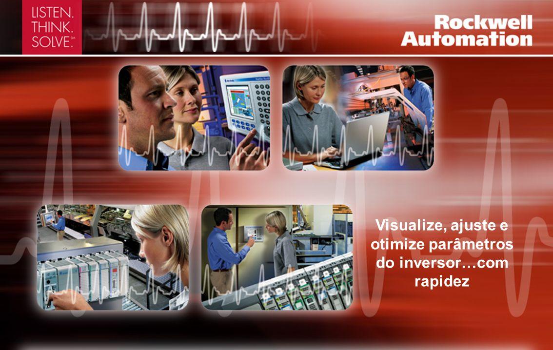 Controle vetorial sem sensores e capacidade E/S adicional Capacidades do Inversor CA PowerFlex 40 0,4 - 11 kW; 0,5 - 15 hp 120, 240, 480, 600 V Duas entradas analógicas, com capacidade PID e mais flexibilidade de aplicação