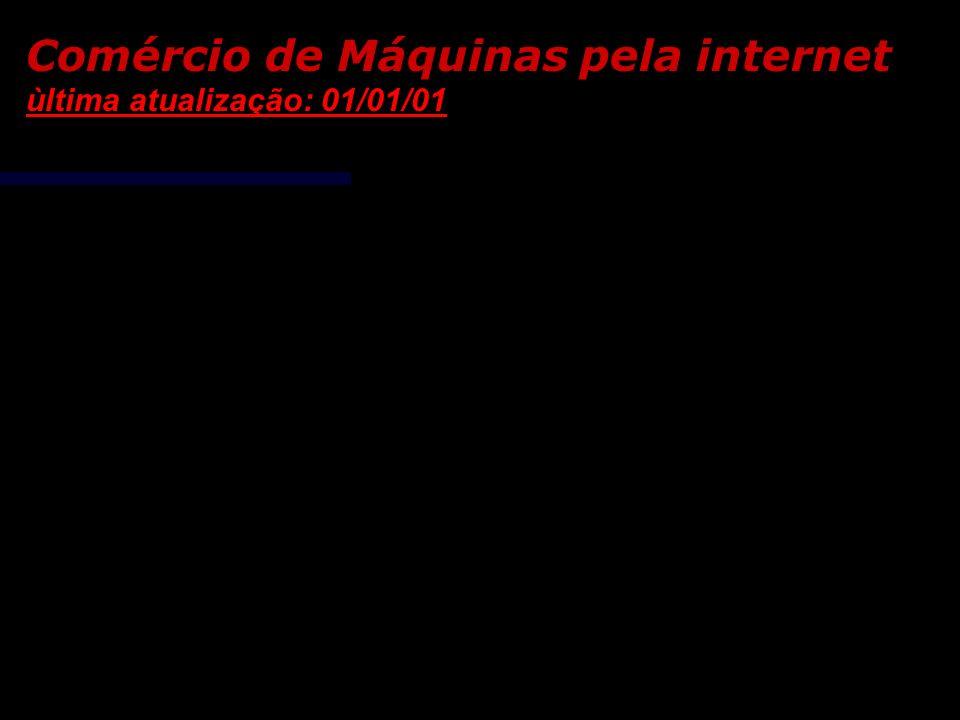 Comércio de Máquinas pela internet ùltima atualização: 01/01/01 Prensa Hidráulica SOGIMA de 6 T (3620) em São Paulo (SP) ao preço de R$ 3.500,00 Prens