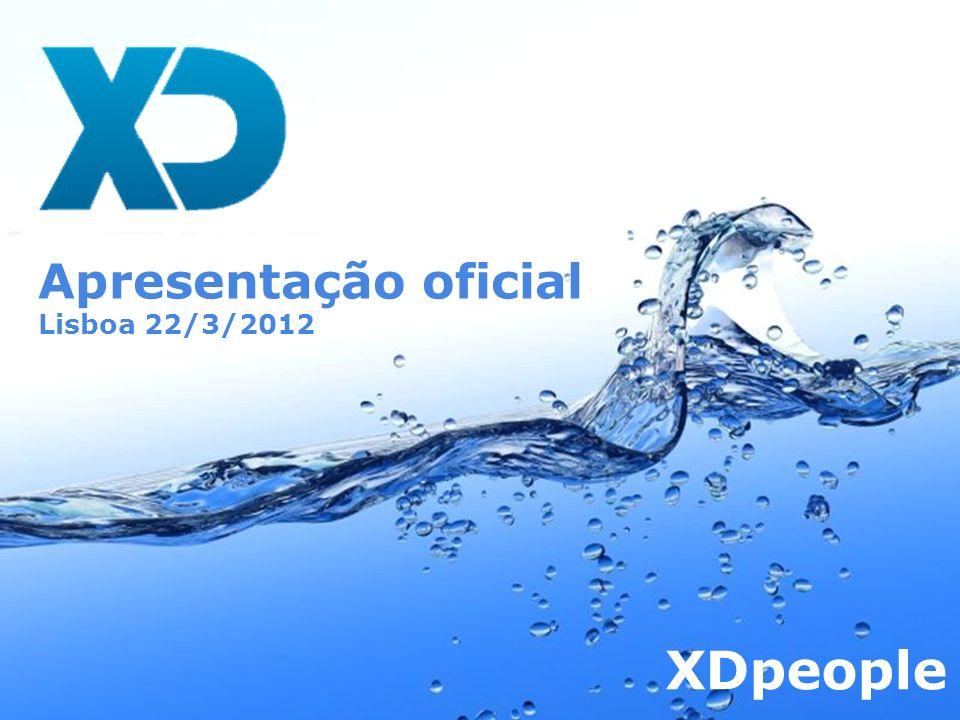 Page 1 Apresentação oficial Lisboa 22/3/2012 XDpeople