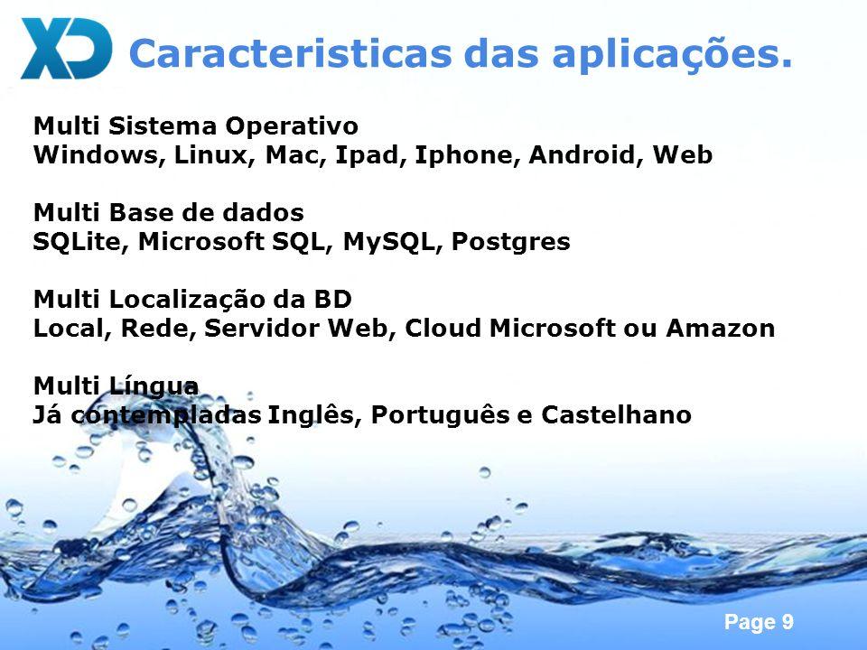 Page 10 Vantagens da Multiplataforma Super Mercados BackOffice em Windows FrontOffice em Linux Consultas em Ipad / Androide Discotecas Ex: Pacha possui 40 terminais.