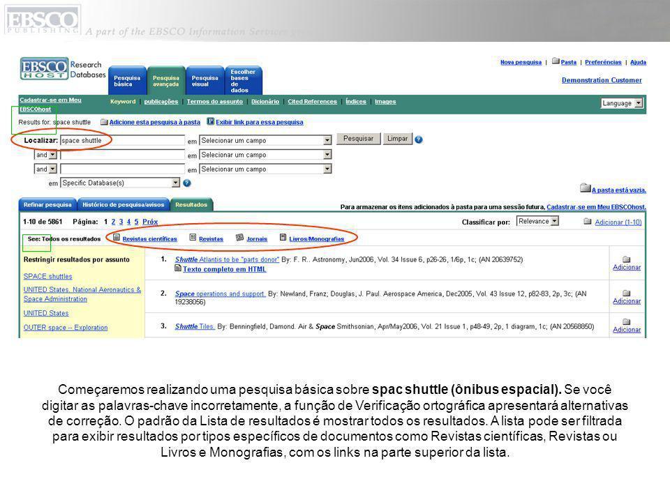 Na guia Refinar pesquisa, é fácil limitar ou expandir os resultados da pesquisa.