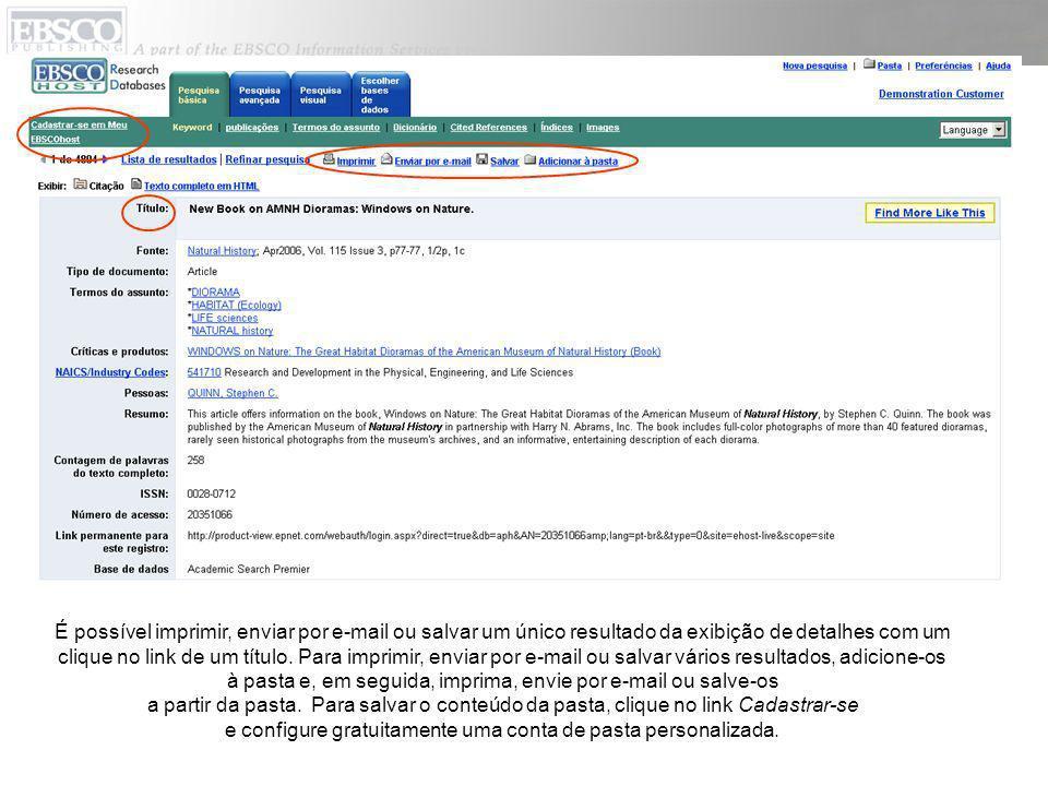 O arquivo de autoridade Termos do assunto é um vocabulário de termos controlado que ajuda a pesquisar a base de dados de maneira mais eficaz.