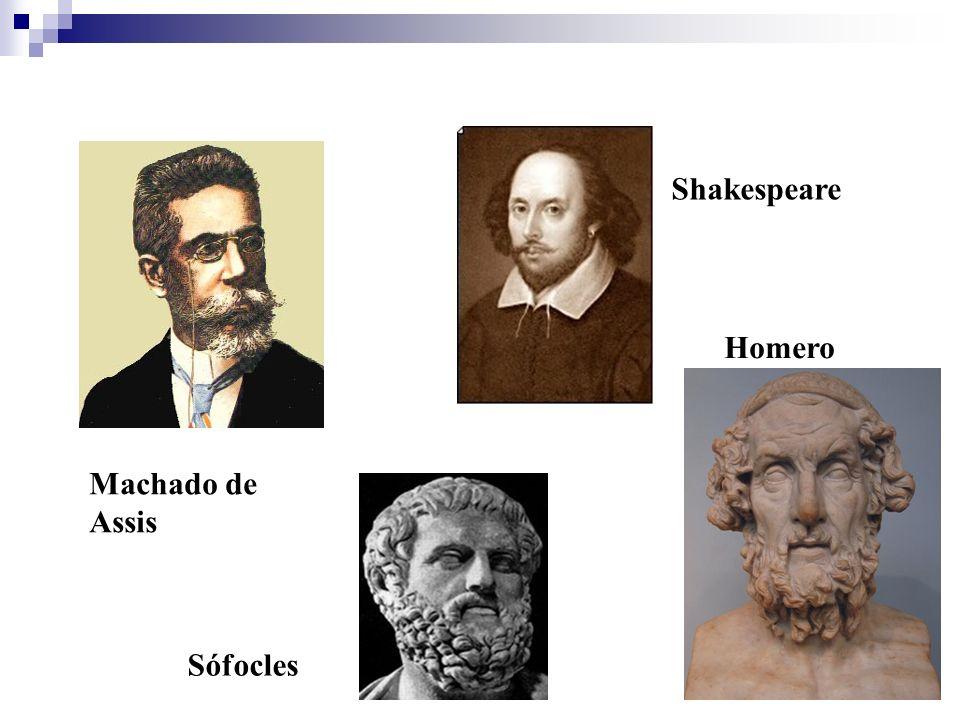 Machado de Assis Sófocles Shakespeare Homero