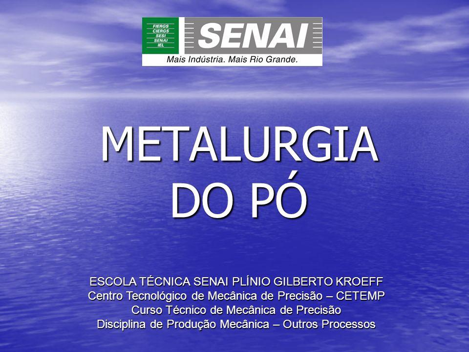 METALURGIA DO PÓ QUESTIONÁRIO 1 – De quando datam os primeiros registros da utilização de materiais sinterizados.