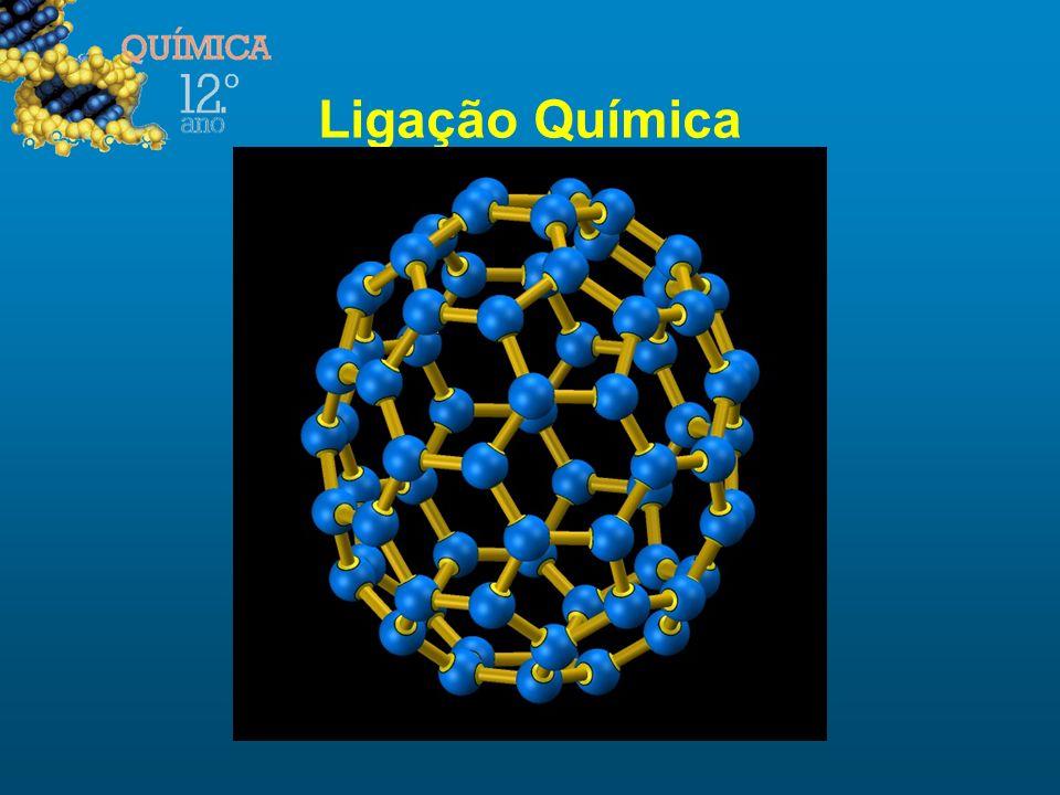 Regra do Octeto (válida apenas para elementos do 2º Período) Os átomos tendem a formar ligações até ficarem rodeados de oito electrões de valência, por forma a adquirirem uma configuração de gás nobre, de particular estabilidade.
