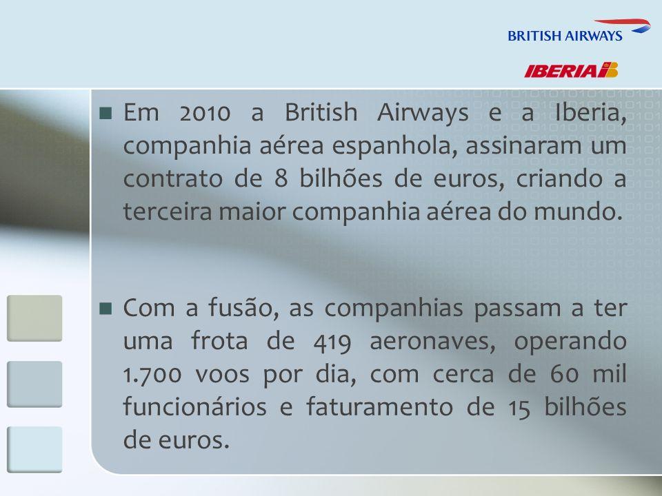 A operação marca o nascimento do IAG (International Consolidated Airlines Group).