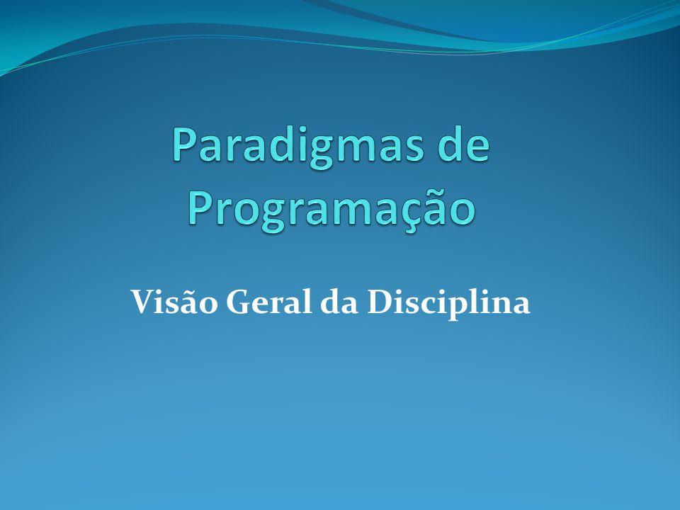 Visão Geral da Disciplina