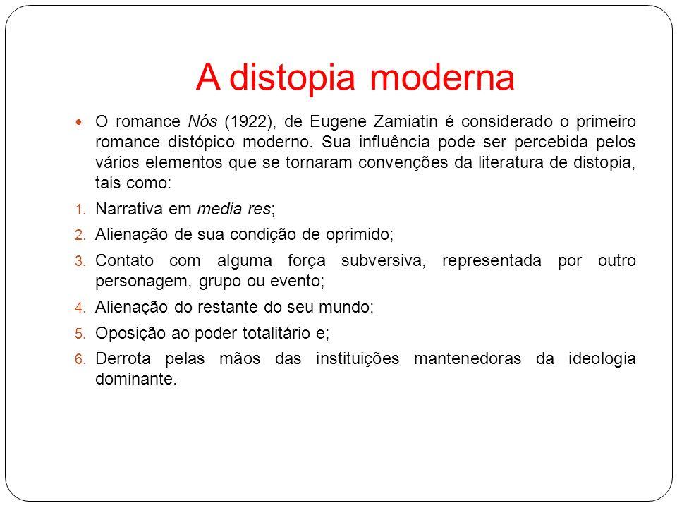 A distopia e Todorov Segundo Todorov (2006, p.