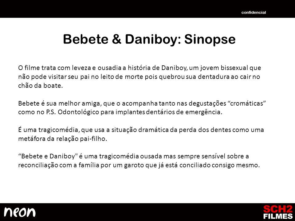 Bebete & Daniboy: Sinopse O filme trata com leveza e ousadia a história de Daniboy, um jovem bissexual que não pode visitar seu pai no leito de morte