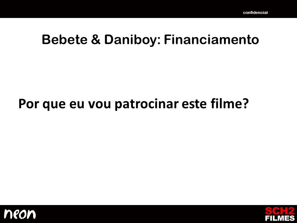 Bebete & Daniboy: Financiamento Por que eu vou patrocinar este filme? confidencial