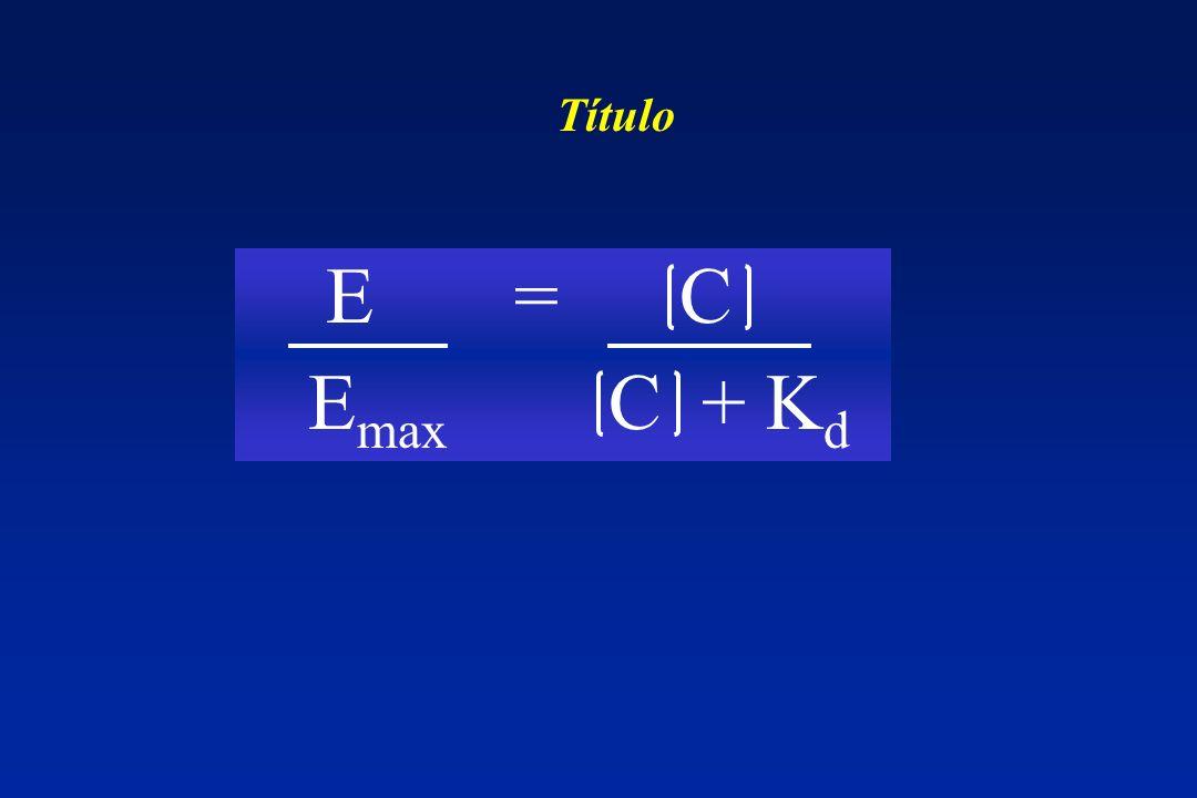 E max C + K d E = C