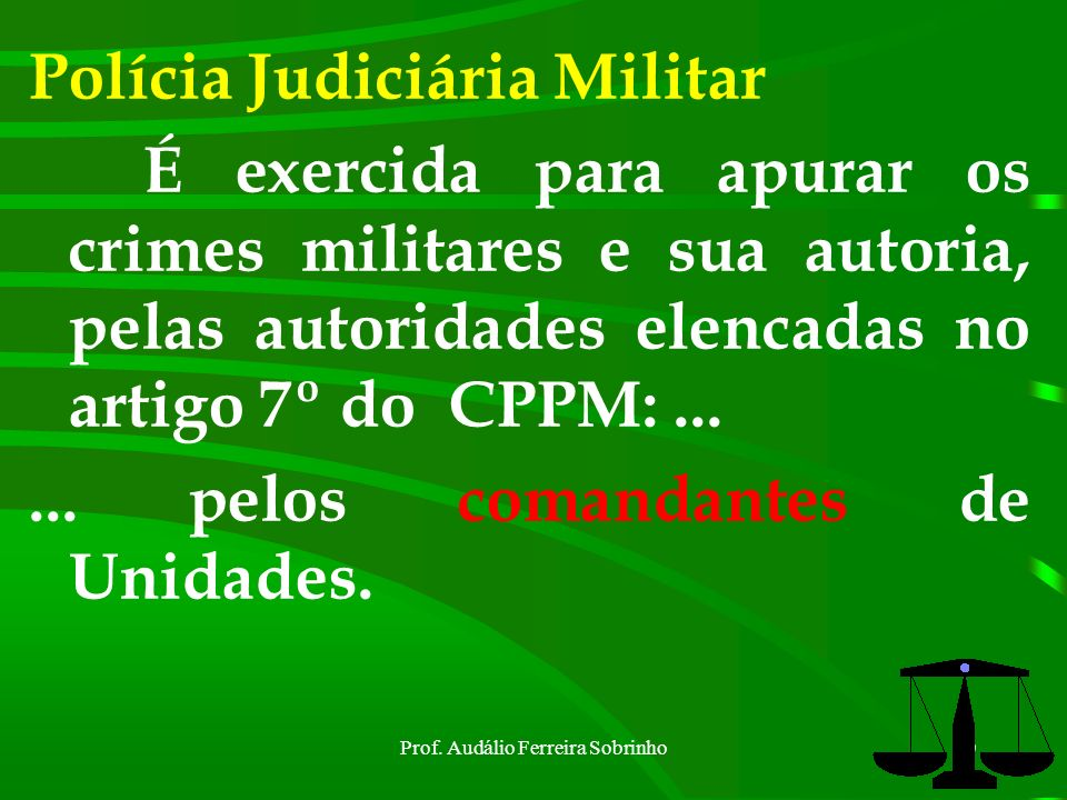 Prof. Audálio Ferreira Sobrinho9 DENÚNCIA É é o ato mediante o qual o representante do Ministério Público formula sua acusação perante o juiz competen
