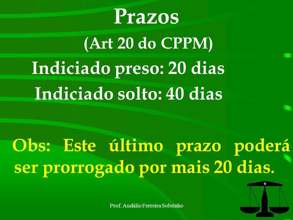 Prof. Audálio Ferreira Sobrinho20
