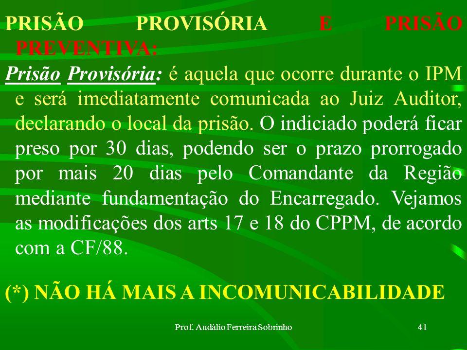 Prof. Audálio Ferreira Sobrinho40 RECONSTITUIÇÃO DOS FATOS: Poderá ser efetuada pelo Encarregado, desde que não contrarie a moralidade ou a Ordem Públ