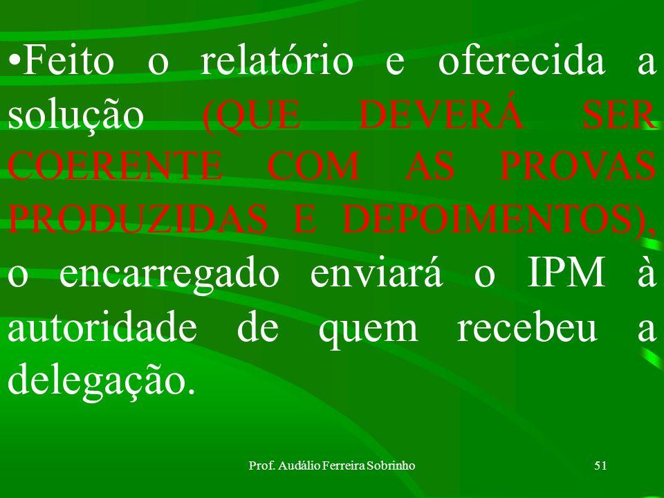 Prof. Audálio Ferreira Sobrinho50 O Encarregado indicará, se possível, o lugar onde se encontram as testemunhas que deixaram de ser ouvidas por qualqu