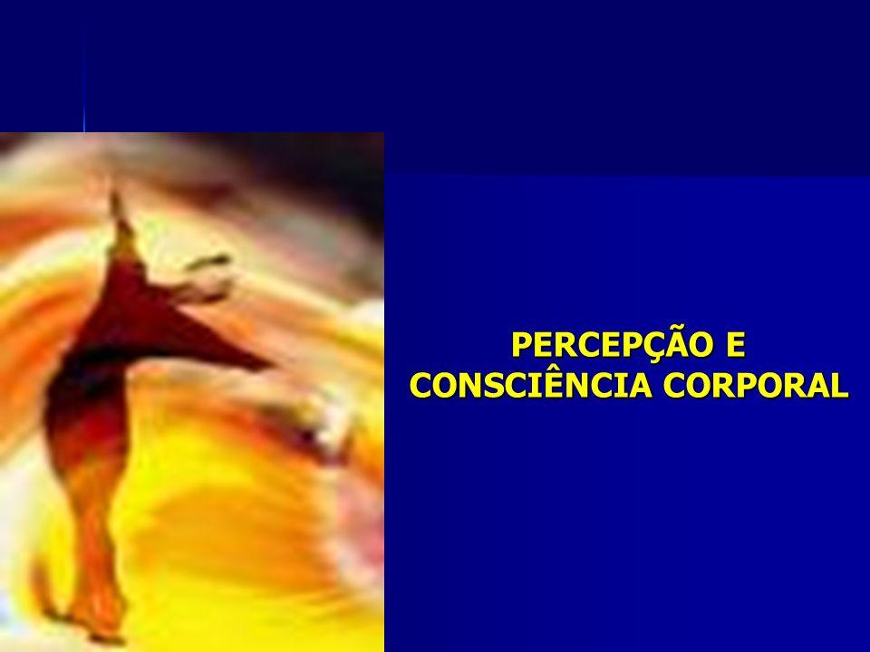 CONSCIÊNCIA CORPORAL A consciência do corpo é o reconhecimento consciente do conjunto de estruturas representativas, simbólicas e semióticas que servem de base à ação motórica.