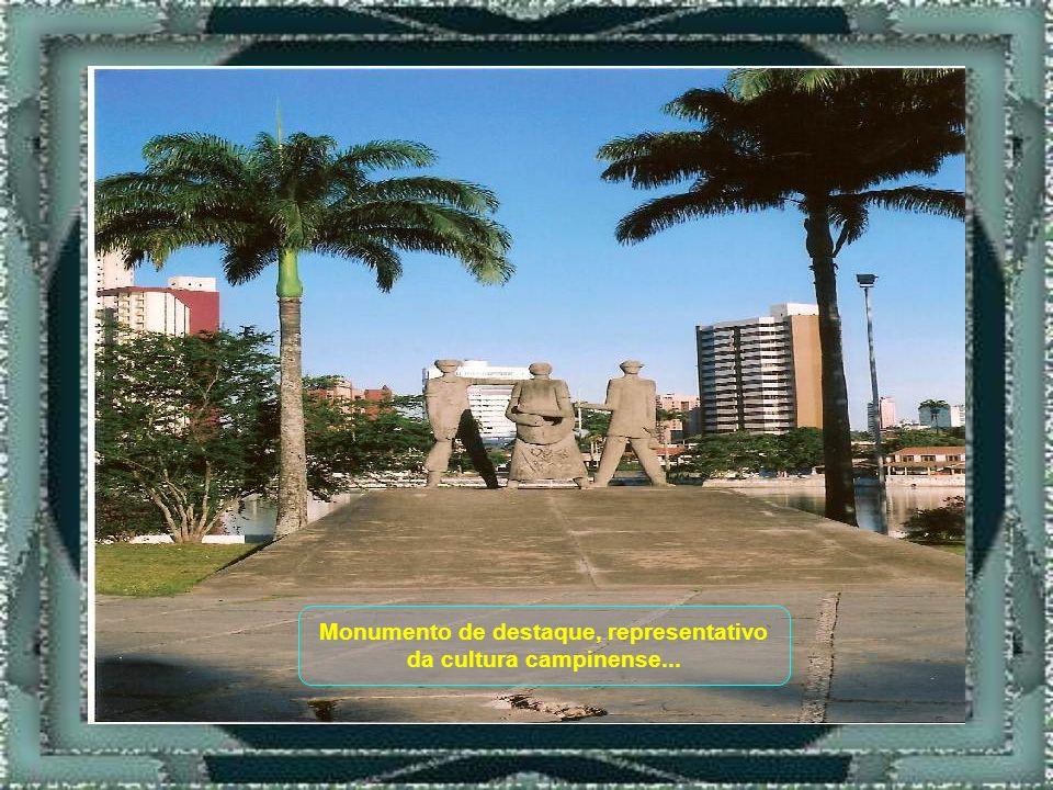 Monumento de destaque, representativo da cultura campinense...