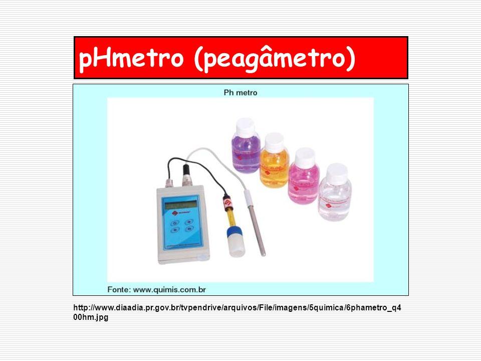 pHmetro (peagâmetro) http://www.diaadia.pr.gov.br/tvpendrive/arquivos/File/imagens/5quimica/6phametro_q4 00hm.jpg
