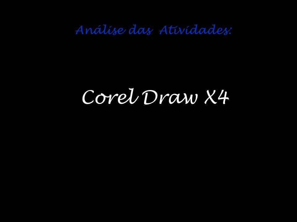 Análise das Atividades: Corel Draw X4