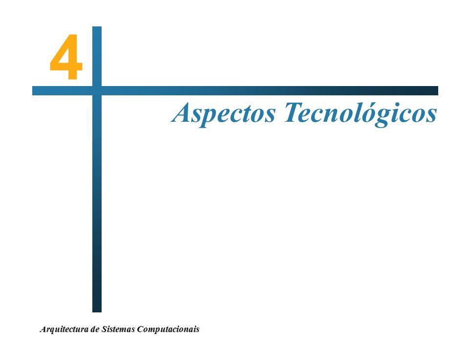 Arquitectura de Sistemas Computacionais Aspectos Tecnológicos 4