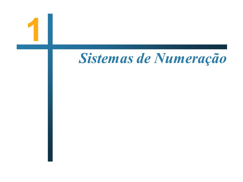 Arquitectura de Sistemas Computacionais Sistemas de Numeração I NTRODUÇÃO A utilização de 10 algarismos diferentes – 0 até 9 – para representação usual de números; Vários países tiveram sistemas não decimais, nomeadamente para medidas de peso ou comprimento.
