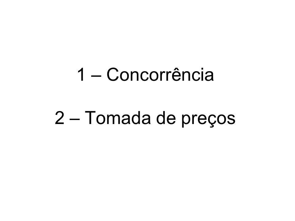 Procedimentos do julgamento de uma licitação: