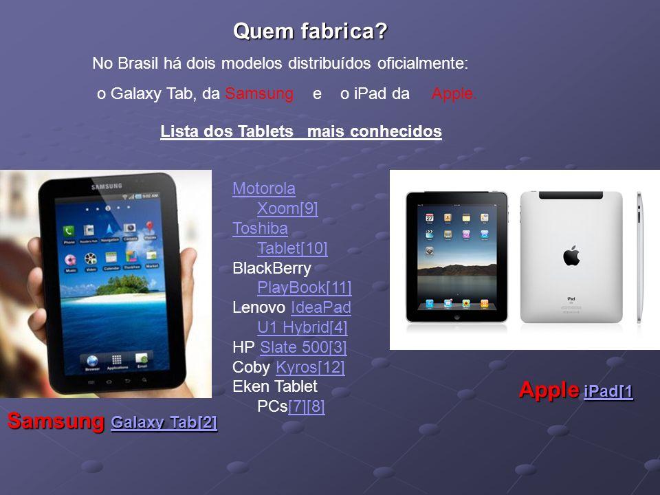 Motorola Xoom[9] Toshiba Tablet[10] BlackBerry PlayBook[11] PlayBook[11] Lenovo IdeaPad U1 Hybrid[4]IdeaPad U1 Hybrid[4] HP Slate 500[3]Slate 500[3] C