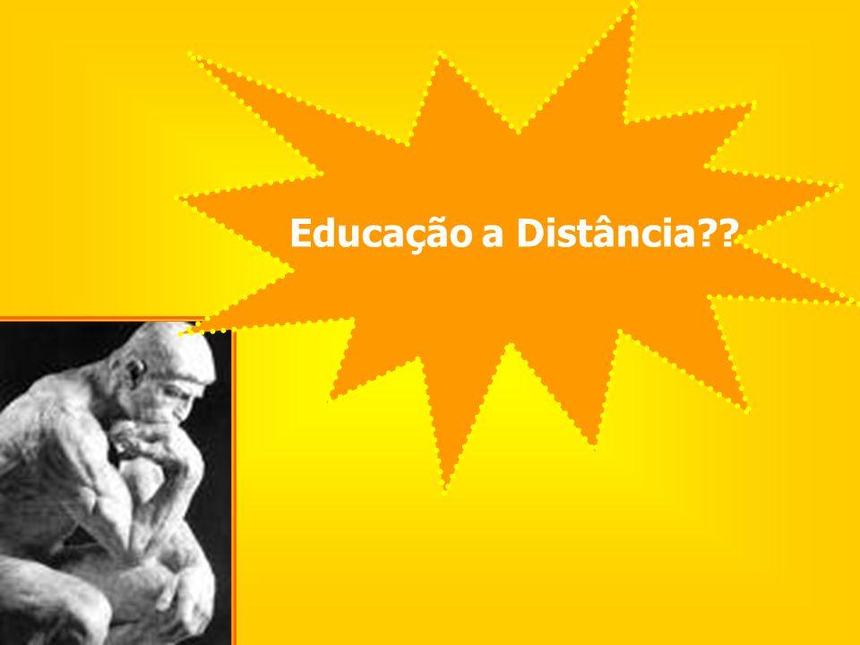 Ao planejar e agir em EaD, não podemos esquecer de que estamos pensando e fazendo Educação! E a D